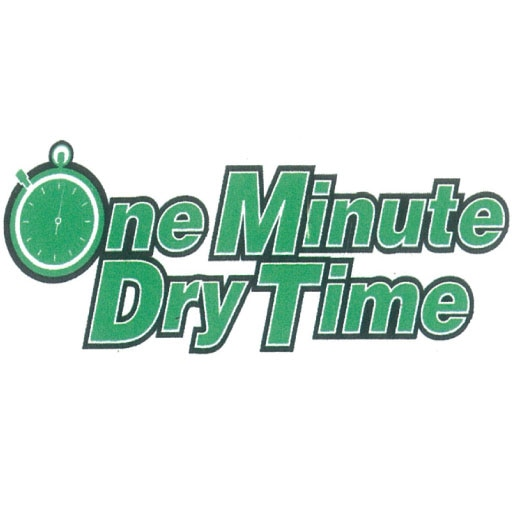 One Minute Dry Time Green Carpet Cleaning logo