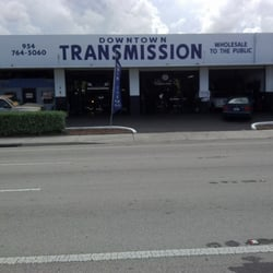 Downtown Transmissions logo