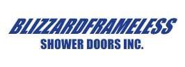 BLIZZARD FRAMELESS SHOWER DOORS, INC. logo