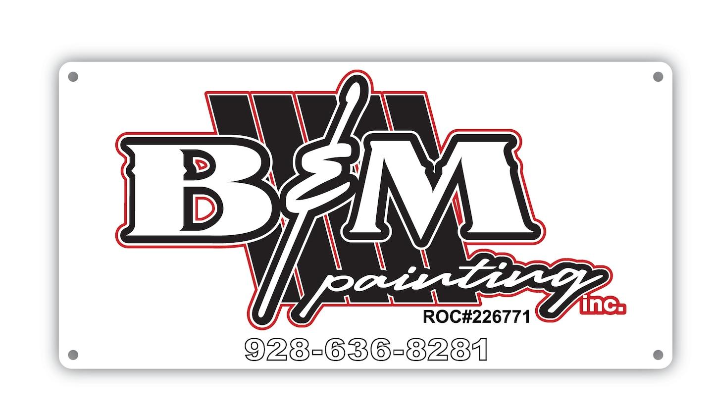B & M Painting Inc logo
