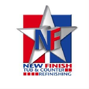 New Finish Tub & Counter Refinishing logo