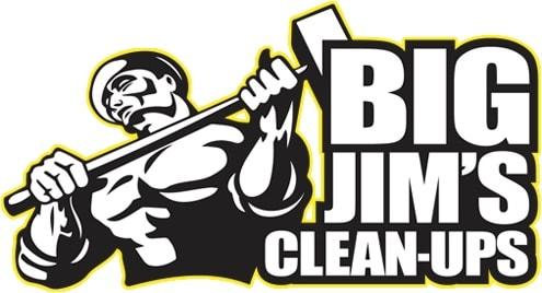 Big Jim's Clean-Ups logo