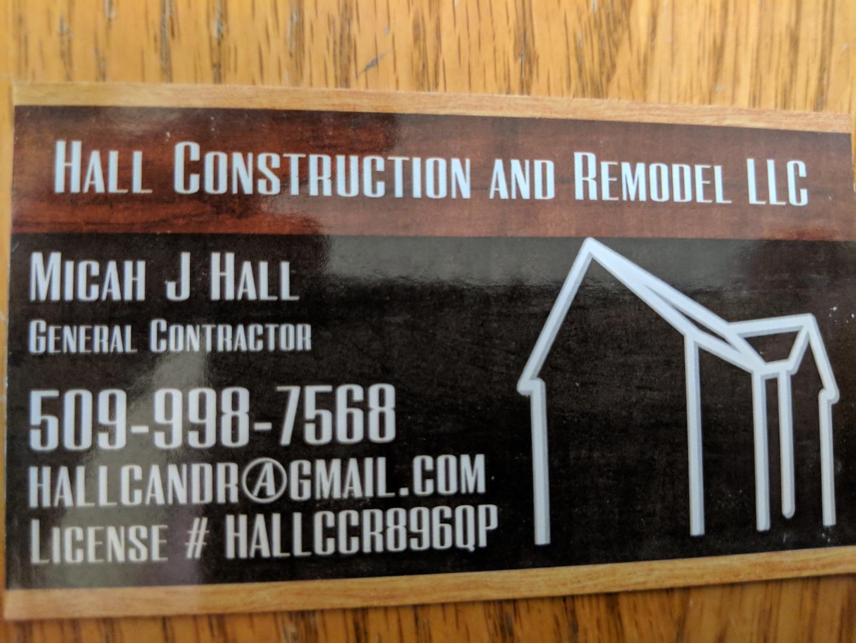 Hall Construction and Remodel LLC logo