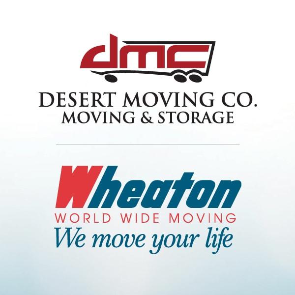 Desert Moving Co & Storage Wheaton World Wide logo