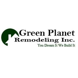 Green Planet Remodeling logo