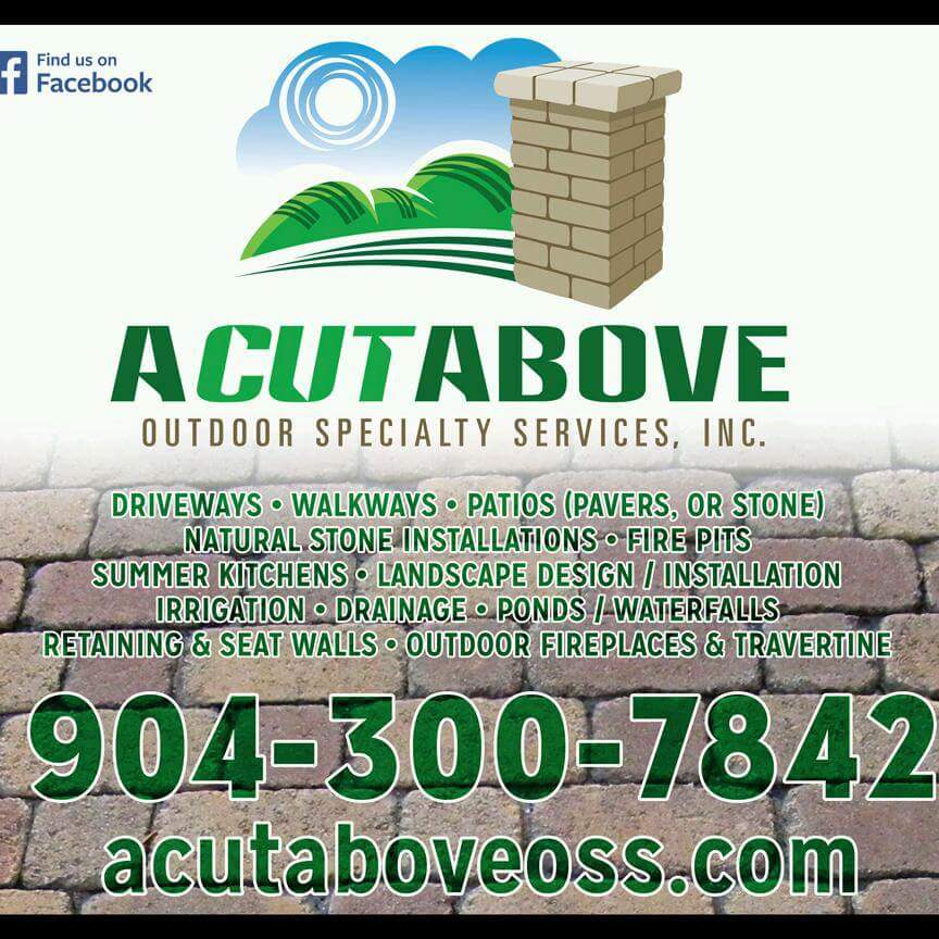 A Cut Above Outdoor Specialty Services logo