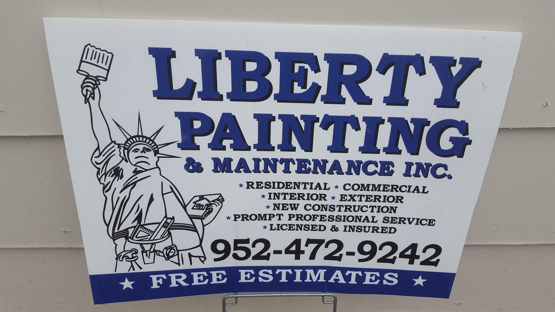 Liberty Painting & Maintenance logo