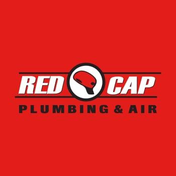 Red Cap Plumbing and Air logo