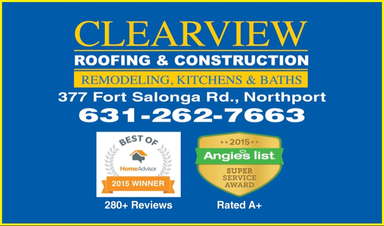 Clearview Roofing & Construction logo
