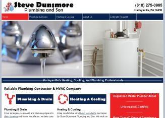 Steve Dunsmore's Plumbing & HVAC logo