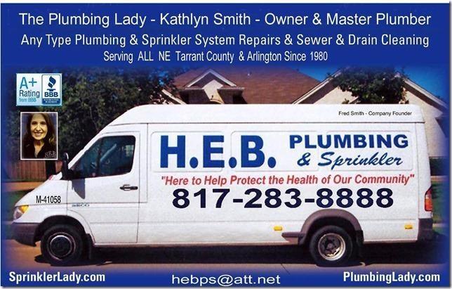 HEB Plumbing & Sprinkler- Kathlyn Smith logo
