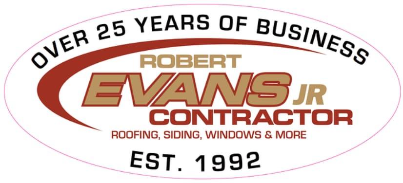 Robert Evans Jr. Contracting logo