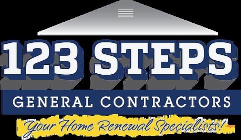 123 STEPS GENERAL CONTRACTORS logo