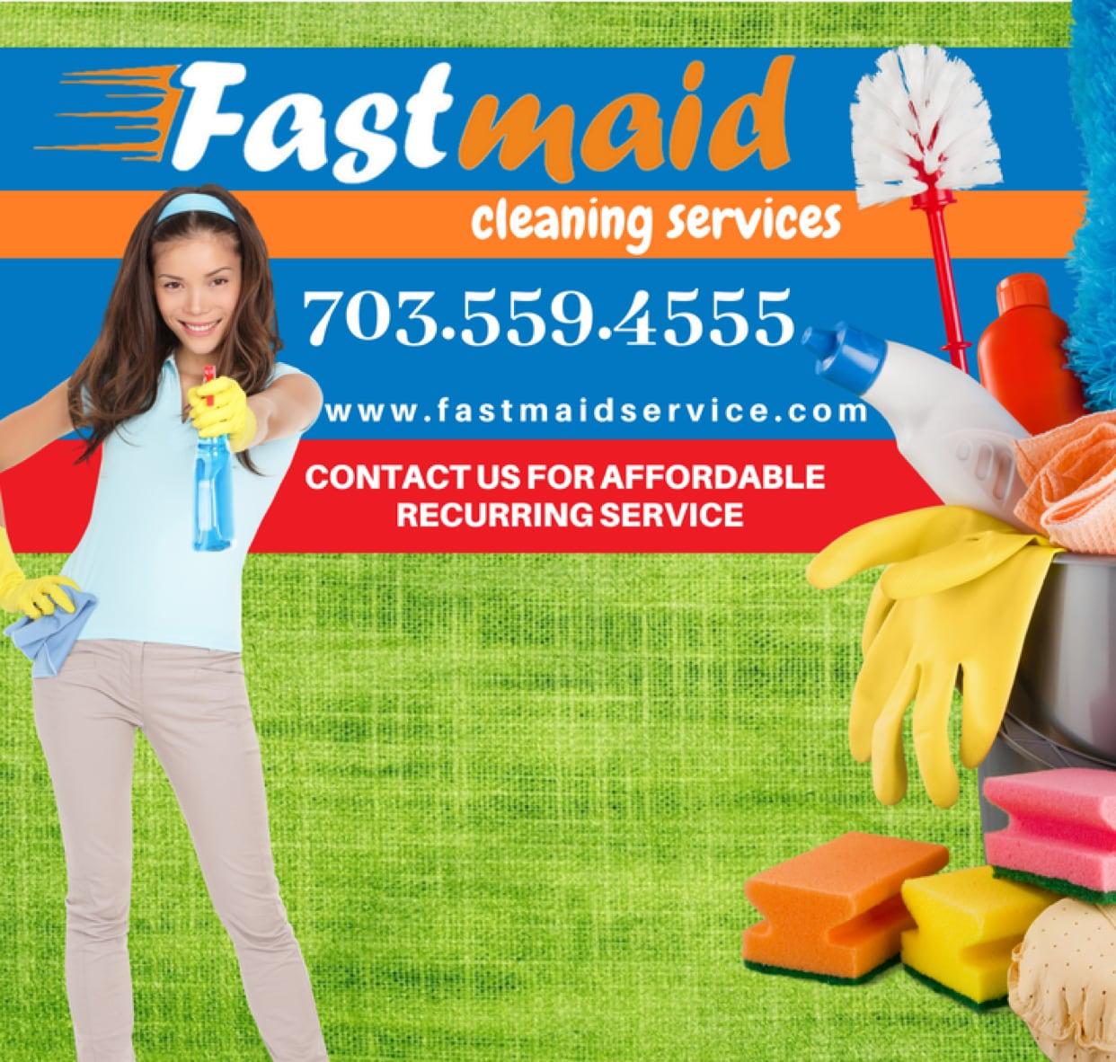 Fast Maid Service logo