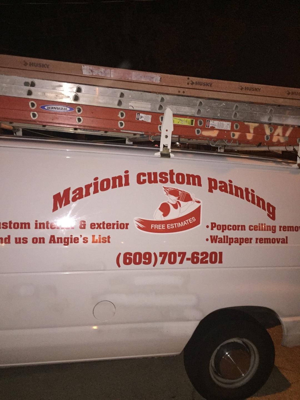 Marioni custom painting logo