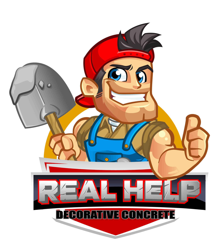 Real Help Decorative Concrete logo