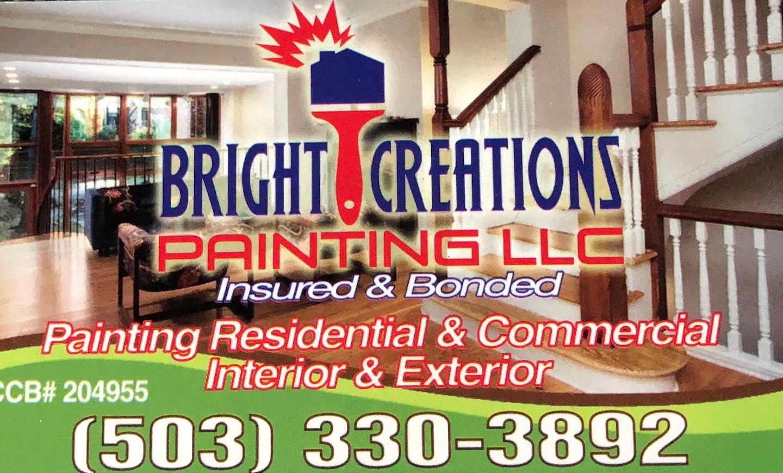 Bright Creations Painting LLC logo