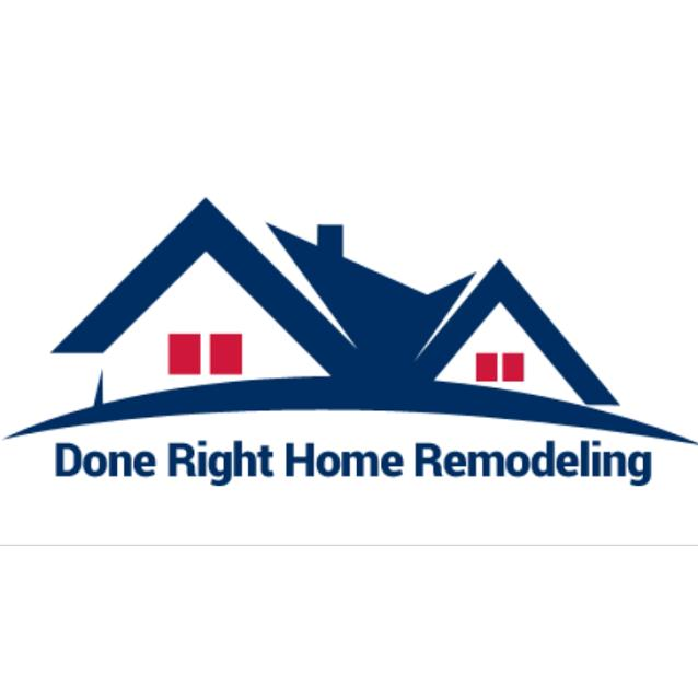 Done Right Home Remodeling logo
