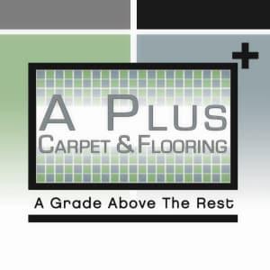 A Plus Carpet & Flooring logo