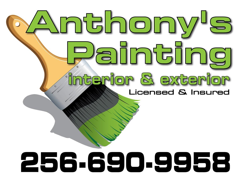 Anthony's Painting logo