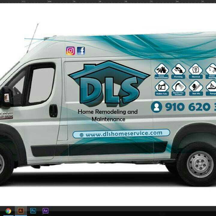 DLS Home Services logo