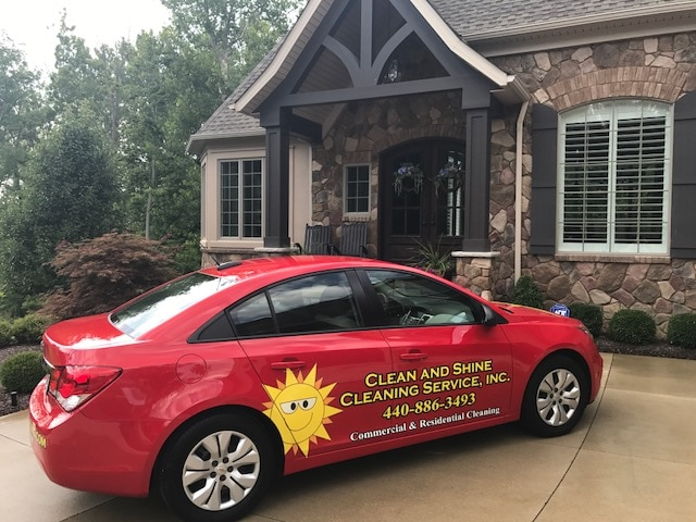 CLEAN AND SHINE CLEANING SERVICE INC logo
