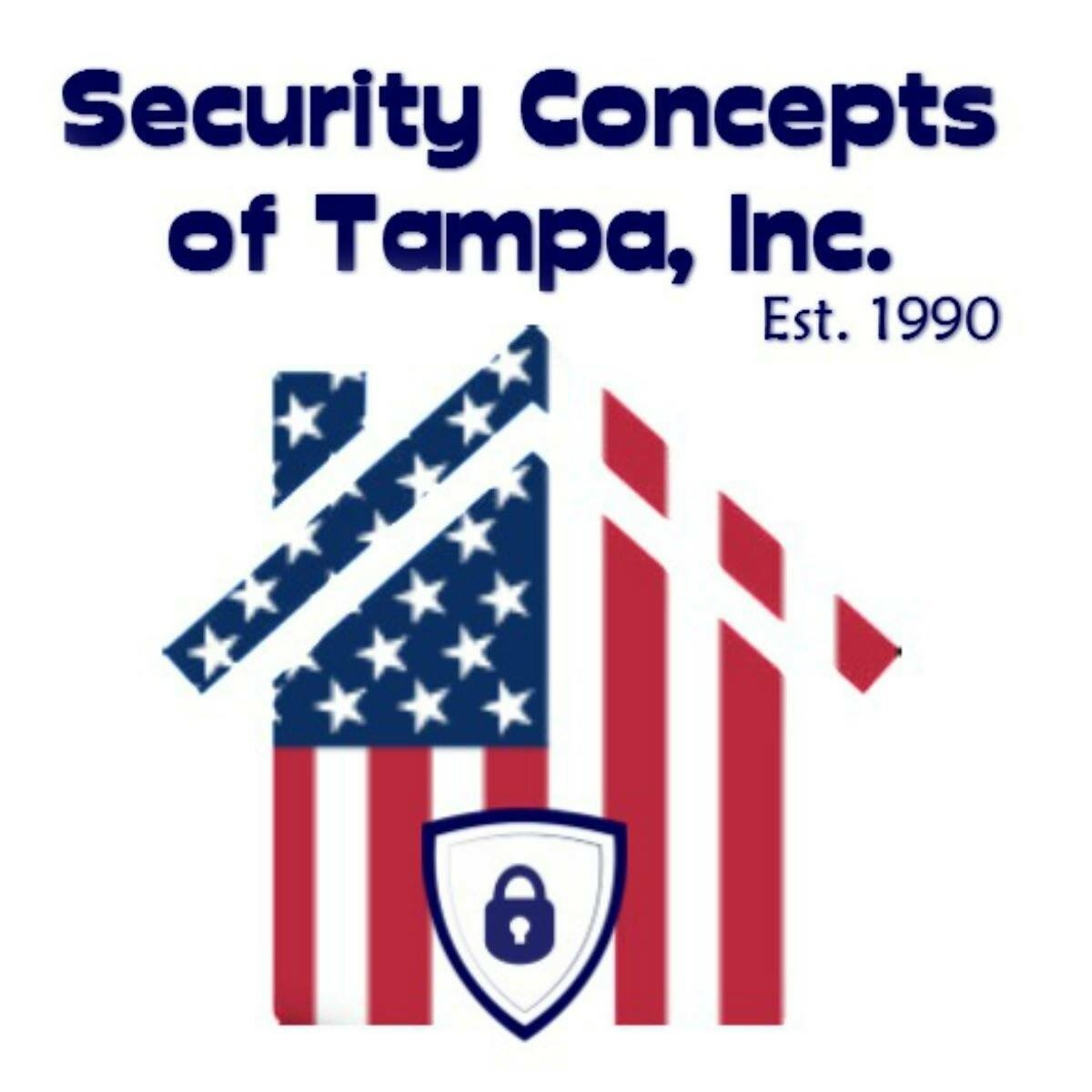 SECURITY CONCEPTS OF TAMPA logo