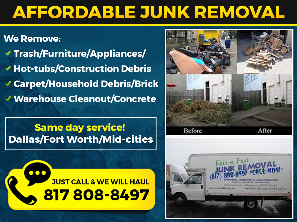 #1 Junk Removers - Fort Worth & Dallas logo