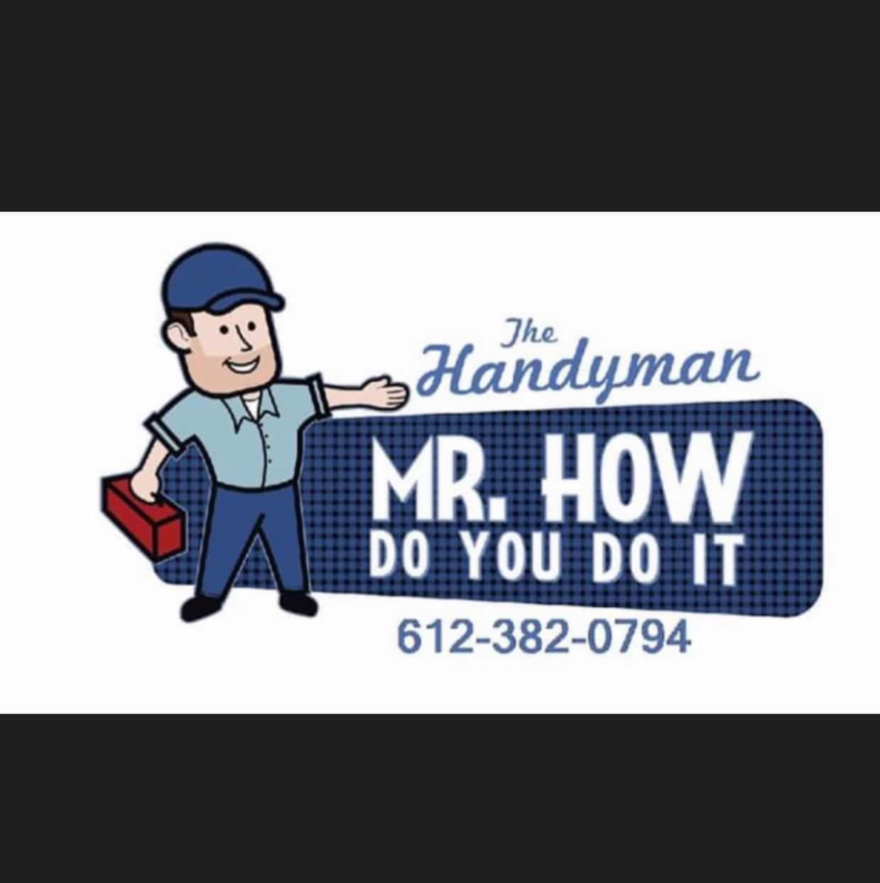 Mr. How Do You Do It logo