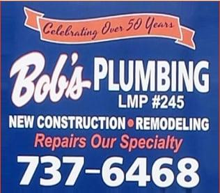 Bob's Plumbing Inc logo
