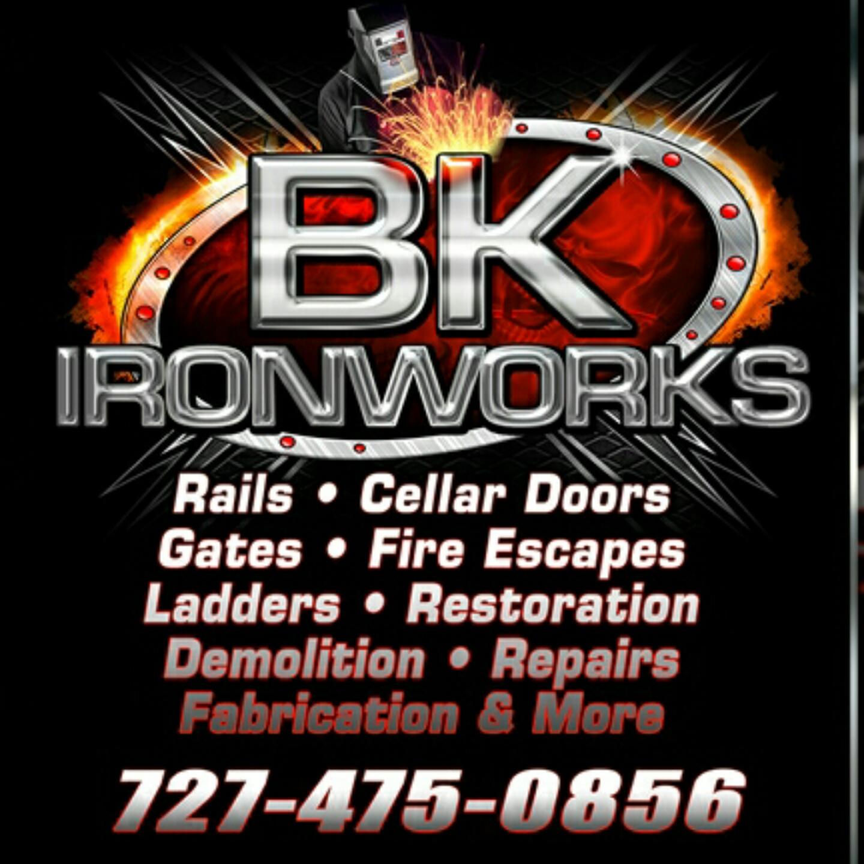 BK Iron Works logo