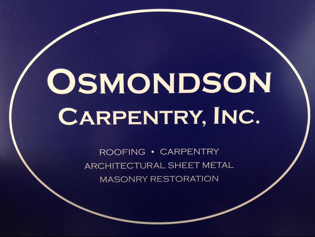 OSMONDSON ROOFING & MASONRY INC logo