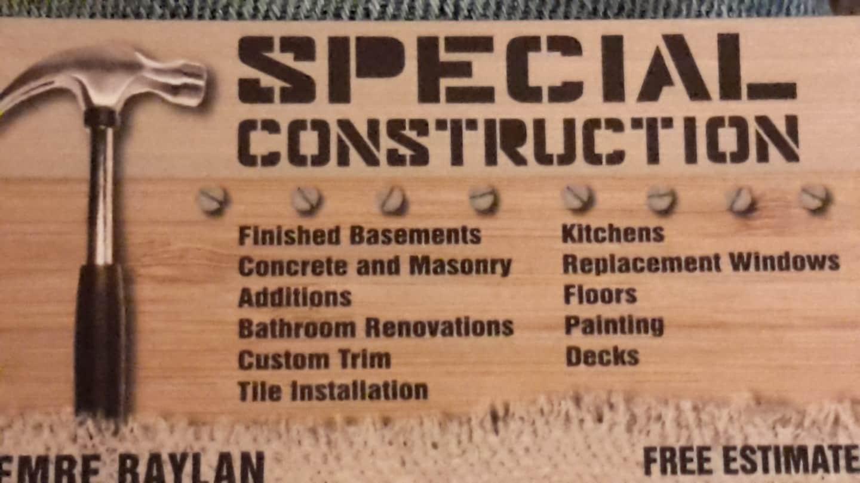 Special Construction LLC logo