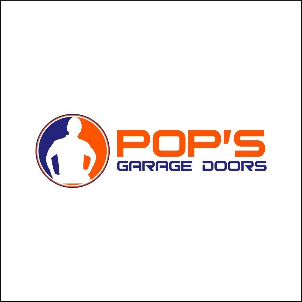 Pop's Garage Doors logo