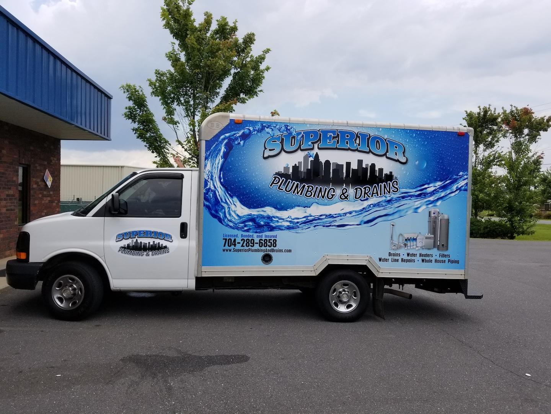 Superior Plumbing and Drains logo