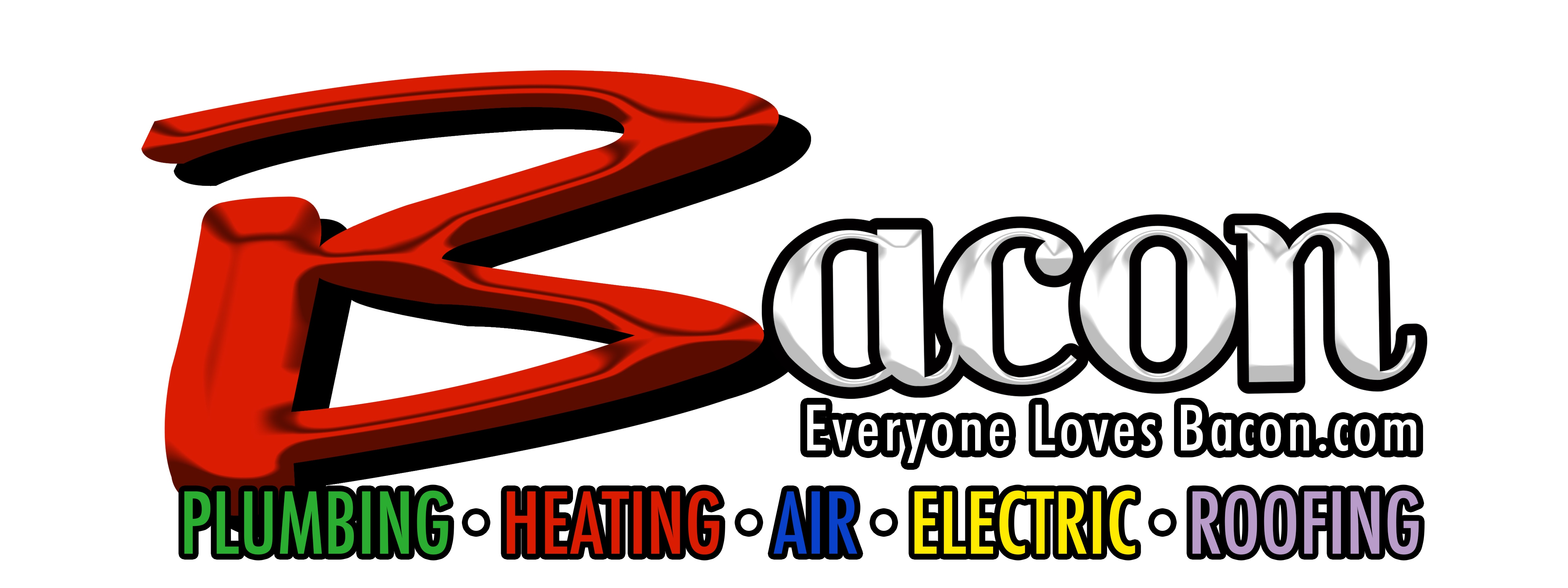 Bacon Plumbing, Heating, Air, Electric, Roofing logo