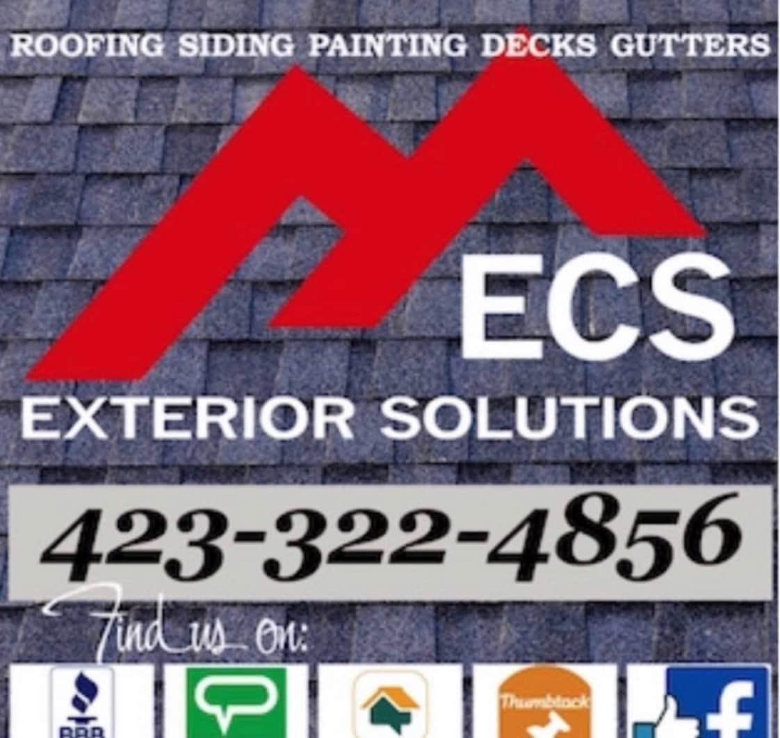ECS Exterior Solutions logo