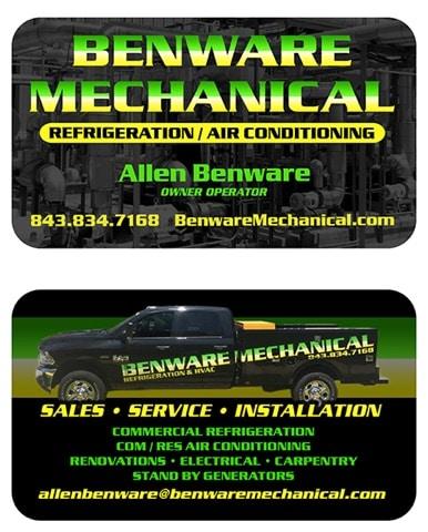 Benware Mechanical logo