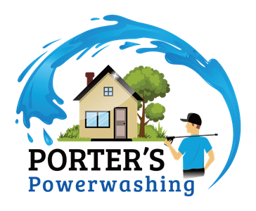 Porter's Powerwashing logo