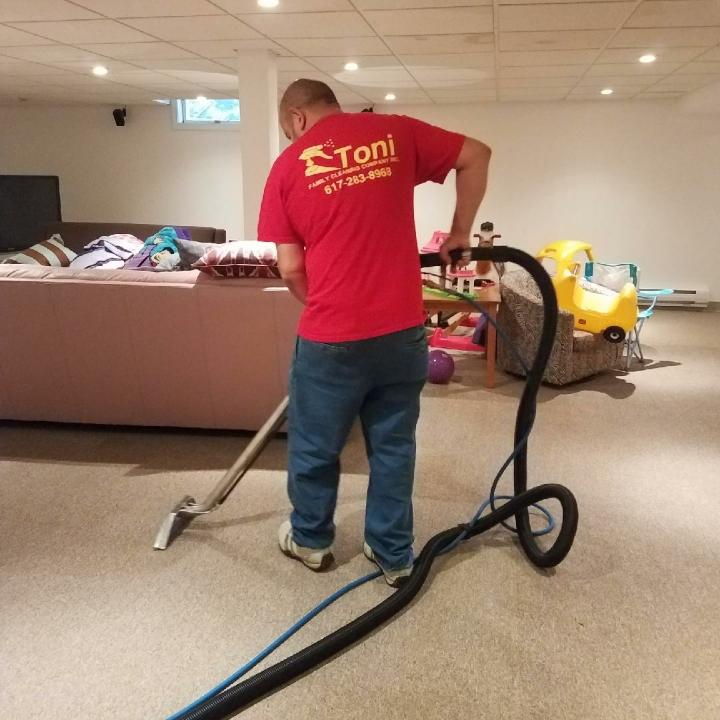 Toni Family Cleaning logo