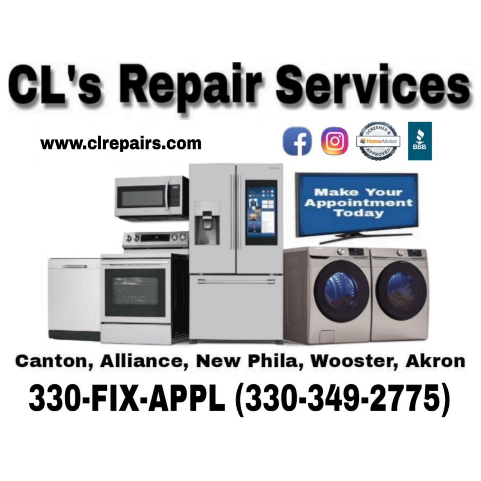 CL's Repair Services  logo