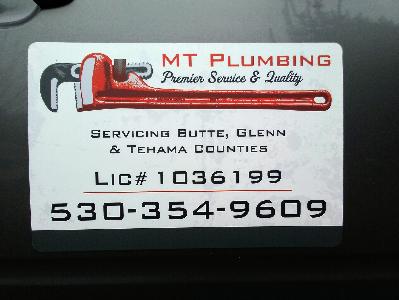 MT Plumbing logo