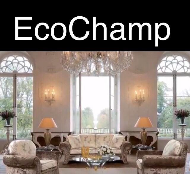 EcoChamp Windows and Siding logo