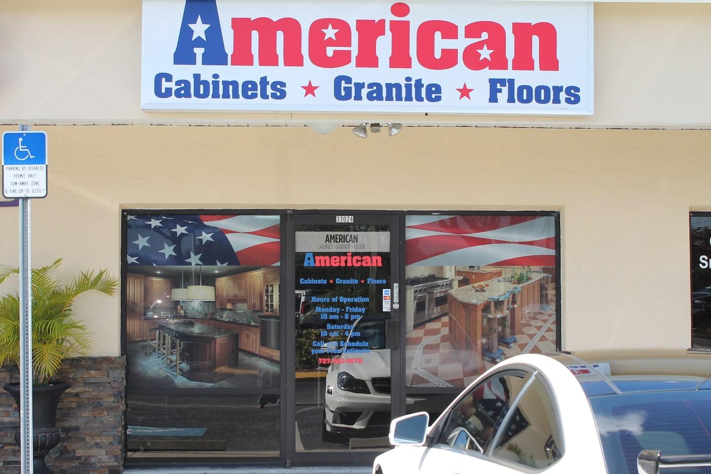 American Cabinet* Granite* Floors logo