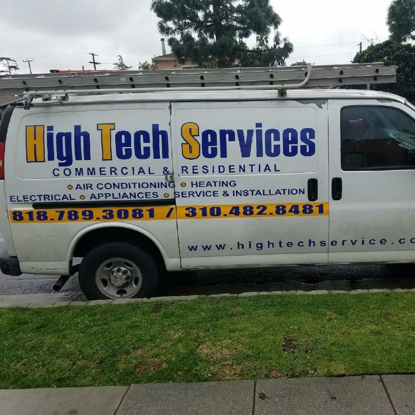 High Tech Services logo
