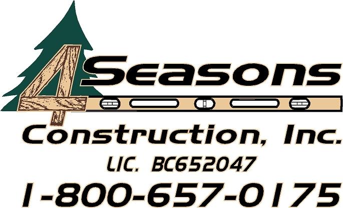 4 Seasons Construction Inc. logo