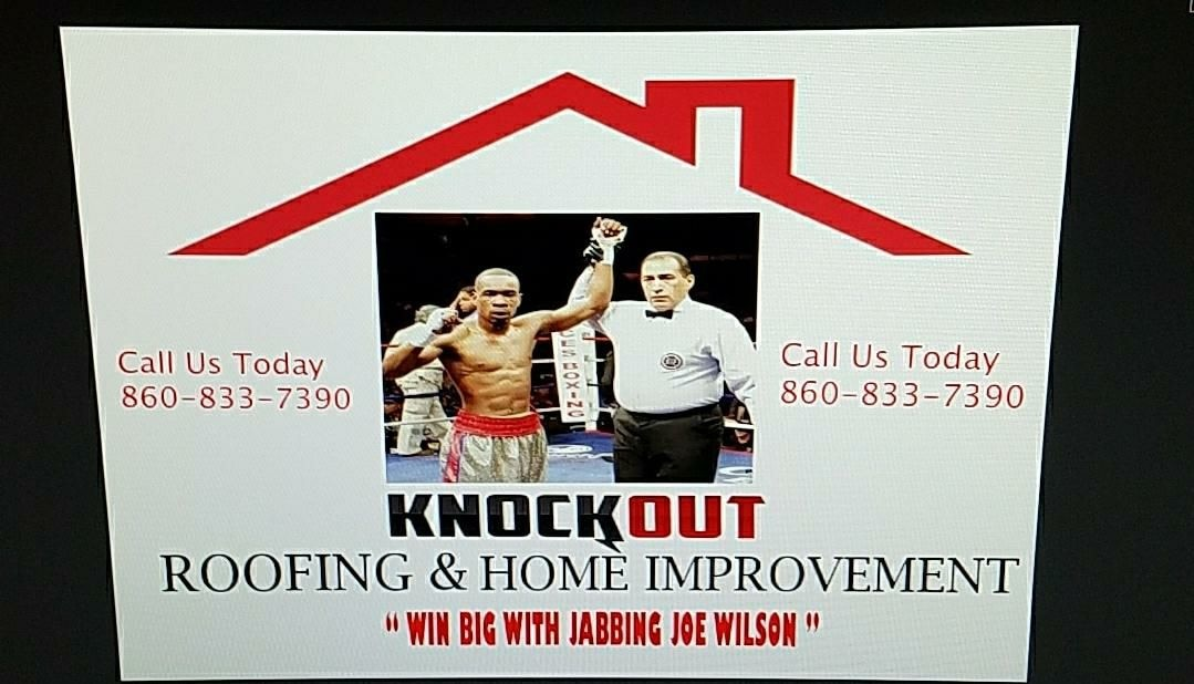 Knockout Roofing and Home Improvement LLC logo