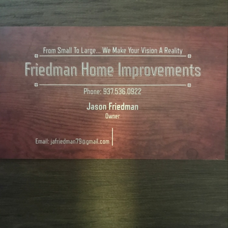 Friedman Home Improvement & Masonry logo