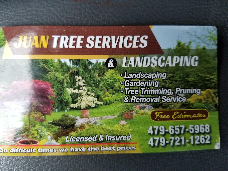 Juans tree service  logo