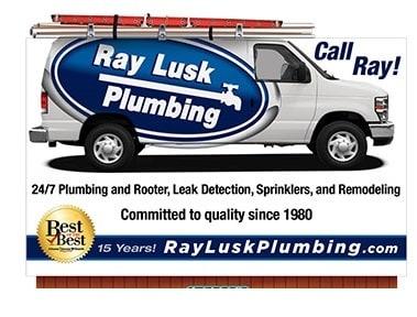 Ray Lusk Plumbing Co logo